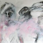 And The Hare said Come with Us by Margo Banks: Irish art at The Greenlane Gallery