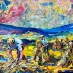 Stucaí Órna by LIAM O'NEILL: Irish Art by Greenlane Gallery Dingle